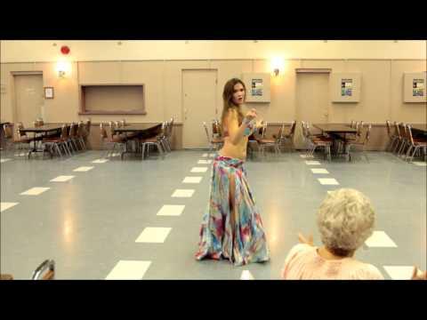 Belly Dancer Cassandra Fox Dances - 2