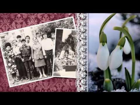 Слайд-шоу на Юбилей мамы 60 лет. Презентация на Юбилей. Часть 2. Текст презентации с Юбилеем маме (в стихах)...