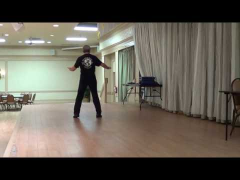 LA ULTIMA NOCHE Line Dance Demo by Choreographer   Ira Weisburd