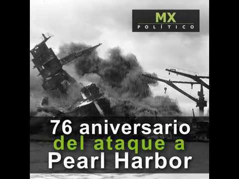 76 aniversario del ataque a Pearl Harbor