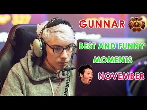 GUNNAR BEST AND FUNNY MOMENTS OF NOVEMBER | GUNNAR DOTA 2 GAMEPLAY | GUNNAR TOP CLIPS
