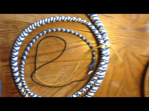8ft Bull Whip... VERRY LOUD!!! (видео)