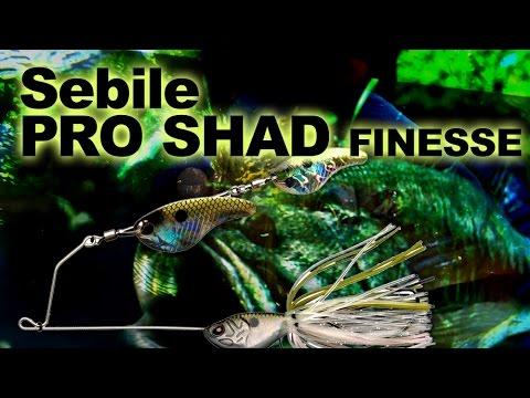 Sebile Pro-Shad Finesse 90 videó