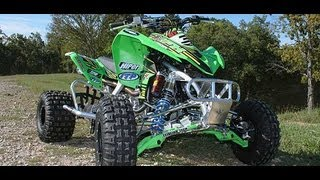 8. Kawasaki KFX450R Motocross Build