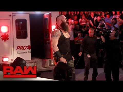 Braun Strowman puts Roman Reigns in an ambulance: Raw, June 26, 2017