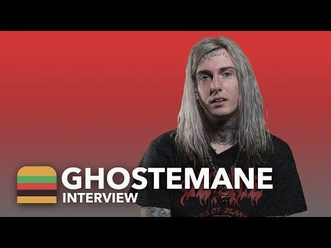 GHOSTEMANE – Интервью для Fast Food Music