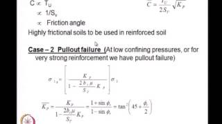 Mod-01 Lec-05 Strength Analysis Of Reinforced Soils -- II
