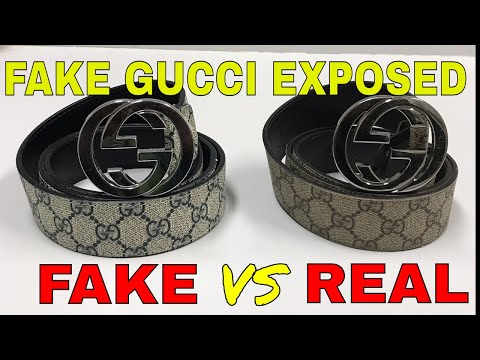 Video how to expose fake Gucci belt download in MP3, 3GP, MP4, WEBM, AVI, FLV January 2017