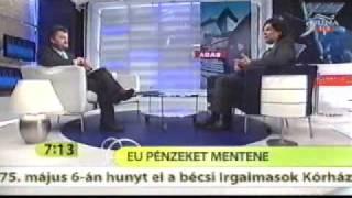 Deutsch Tamás a DunaTV Hattól Nyolcig c. műsorában