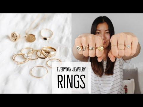 EVERYDAY JEWELRY   RINGS