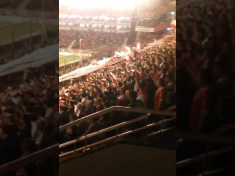Hinchada del rojo argentina - La Barra del Rojo - Independiente