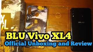 BLU VIVO XL4 official unboxing | 6.2 HD+ All Screen Display. Gorgeous!