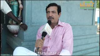 Nizhalgal Ravi at Manam Konda Kadhal Shooting Spot