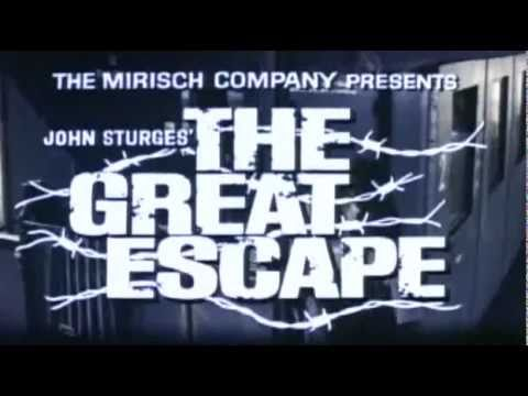 The Great Escape Theatrical Movie Trailer #2 (1963)
