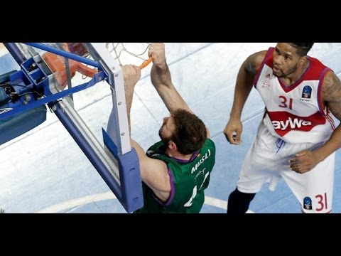 7DAYS EuroCup Highlights: FC Bayern Munich-Unicaja Malaga, Game 3