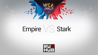 Empire vs STARK, game 1