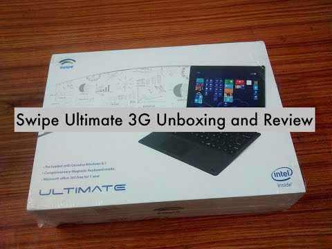 Swipe Ultimate 3G Unboxing and review