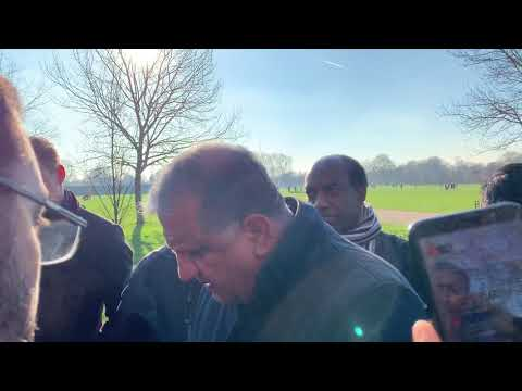 OMAR JEREMY AND OTHERS MORE DRAMA - speakers corner 20/1/19