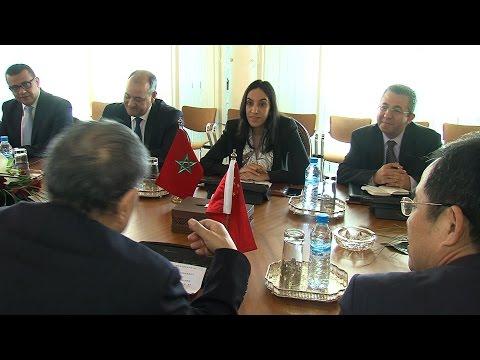Mme Bouaida s'entretient à Rabat le président de l'Association chinoise de la diplomatie publique
