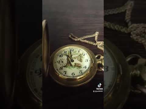 Улис Нардин мужские карманные часы видео