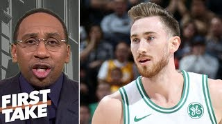 Stephen A. Smith: Gordon Hayward is Celtics' biggest problem | First Take