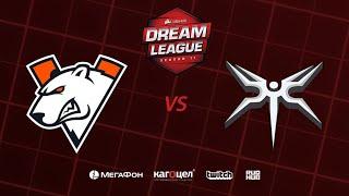 Virtus.pro vs  Mineski, DreamLeague Season 11 Major, bo3, game 1 [Lex & GodHunt]
