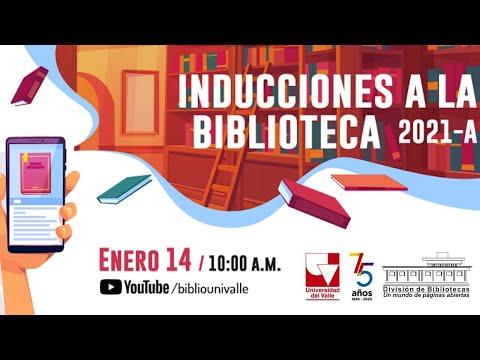 Inducciones Biblioteca 2021-A
