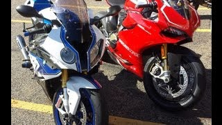 10. 2013 BMW HP4 vs 2013 Ducati 1199 Panigale R