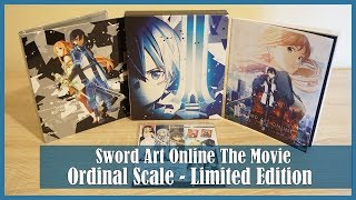 Nonton Anime Unboxing   Sword Art Online The Movie Ordinal Scale  Limited Edition  Blu Ray   2017 Film Subtitle Indonesia Streaming Movie Download