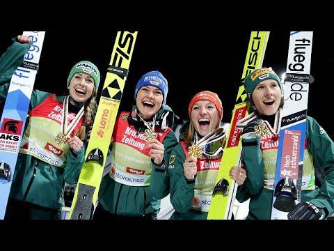 Nordische Ski-WM in Seefeld: Wieder Gold im Skispring ...