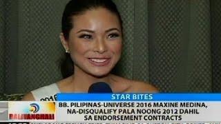 Video Bb. Pilipinas-Universe 2016 Maxine Medina, na-disqualifiy pala noong 2012 MP3, 3GP, MP4, WEBM, AVI, FLV Juni 2018
