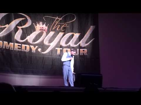 Tony Rock Royal Comedy Tour Wash DC 3/22/13