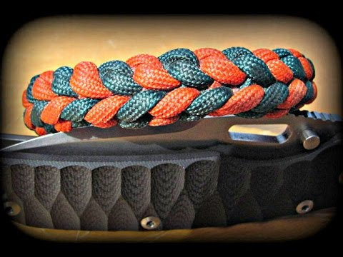 Paracord River Bar Armband Bracelet knüpfen – Anleitung / How to do – Deutsch/German