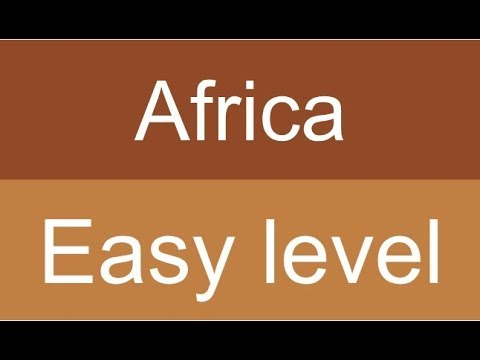 Countries and capitals quiz - Africa - Level: Easy