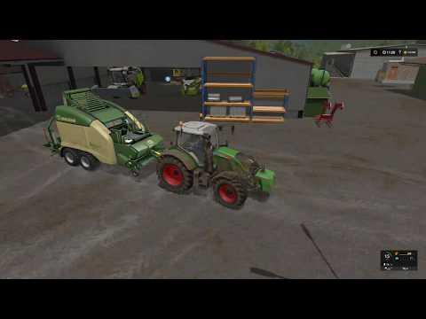 Farming simulator 17 Timelapse $1Billion farming only challenge ep#26