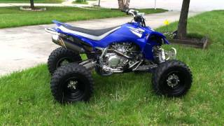 10. 2008 yfz 450 with fmf 4.1 full exhaust walk around and start up