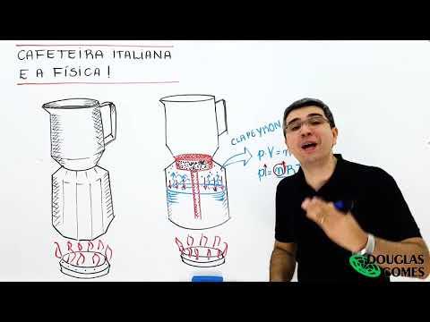 Cafeteira italiana e a Física