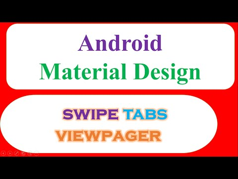Android Tablayout – Swipe Fragments With Images