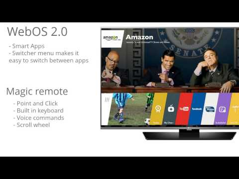 LG Electronics 65LF6300 65-Inch 1080p 120Hz Smart LED TV Review
