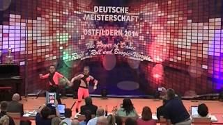 Antonia Schmid & Julian Minks - Deutsche Meisterschaft 2014