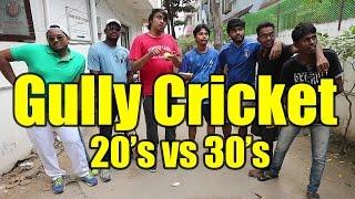 Video Gully Cricket: 20's vs 30's | Sportskeeda | Paracetamol Paniyaram MP3, 3GP, MP4, WEBM, AVI, FLV Januari 2019