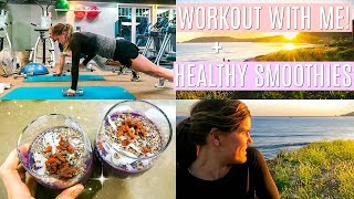 today's vlog is about how to have a better day, I take you through my workout and show you a healthy smoothie recipe along with a beautiful sunset. :)instagram @cambriajoy  twitter @breelovesbeauty  LAST day to sign up for the free workout planner PDF page click here: http://www.cambriajoyexclusives.com/signup/Golden Milk: http://rstyle.me/n/cpfdg6bv7mpPea Protein: http://rstyle.me/n/cpfdicbv7mpEssential Oils: https://www.mydoterra.com/cambriajoy/#/thanks for watching this vlog! I love you!! xo Cambria