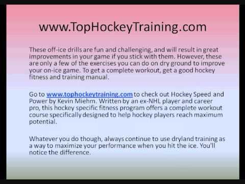 Hockey Dryland Training – 3 Amazing Dryland Exercises to Improve Your On-Ice Game