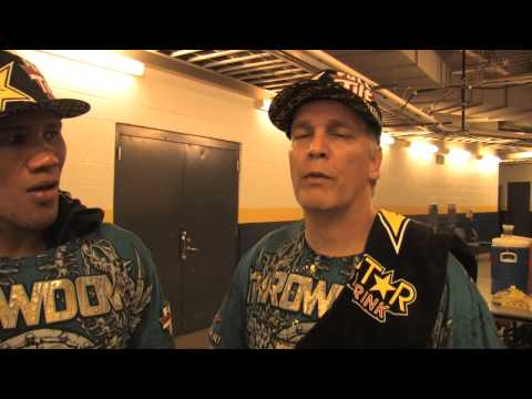 Jacare Souza Post Fight Interview