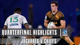 Jaguares v Chiefs 2019 Super rugby quarter-final video highlights | Super Rugby Video Highlights
