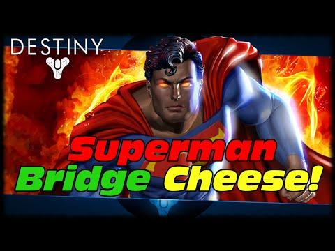 Bridge - Destiny How To Superman Cheese Annihilator Totem Bridge In Crota's End With A Titan! Sub To Oh_Killzone For Finding This!