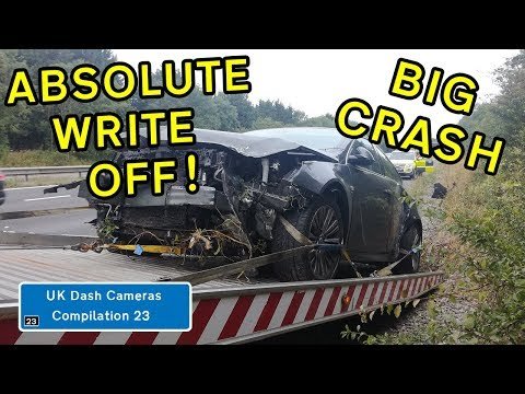 UK Dash Cameras - Compilation 23 - 2019 Bad Drivers, Crashes + Close Calls