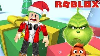 El Grinch en Roblox | Robo en Navidad | Karim Juega Roblox
