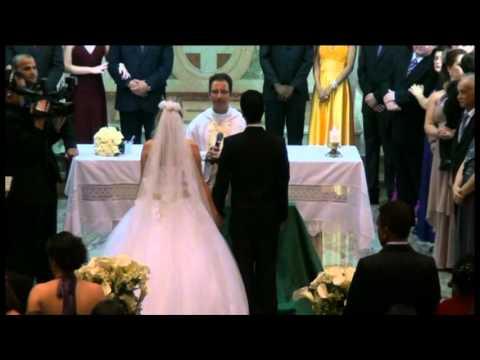 Casamento Jaqueline e Robson - Venho Senhor (comunhão)
