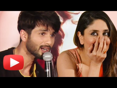 Kareena Kapoor AWKWARD MOMENT, Poses With Shahid K
